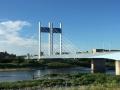 悠然と是政橋