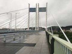 是政橋を稲城方面へ渡る