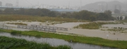 15:53 河川敷がほとんど水没