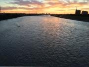 とうとうと多摩川の流れ