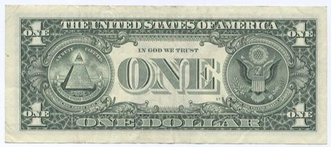 1ドル紙幣1