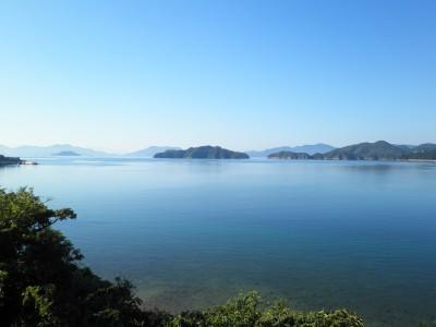 小松原から見た瀬戸内海