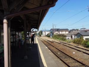 戸川駅ホーム