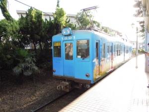 観音駅電車