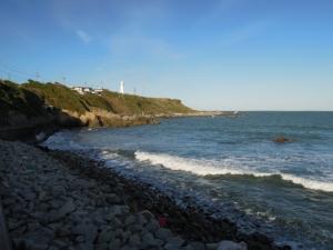 海岸と灯台