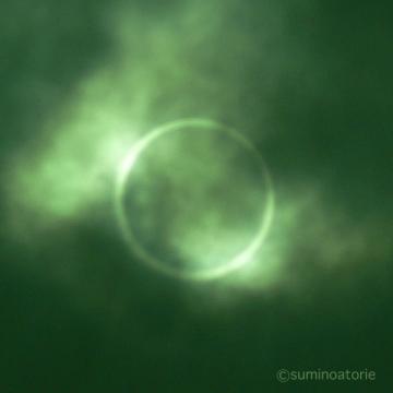 金環日食inaba