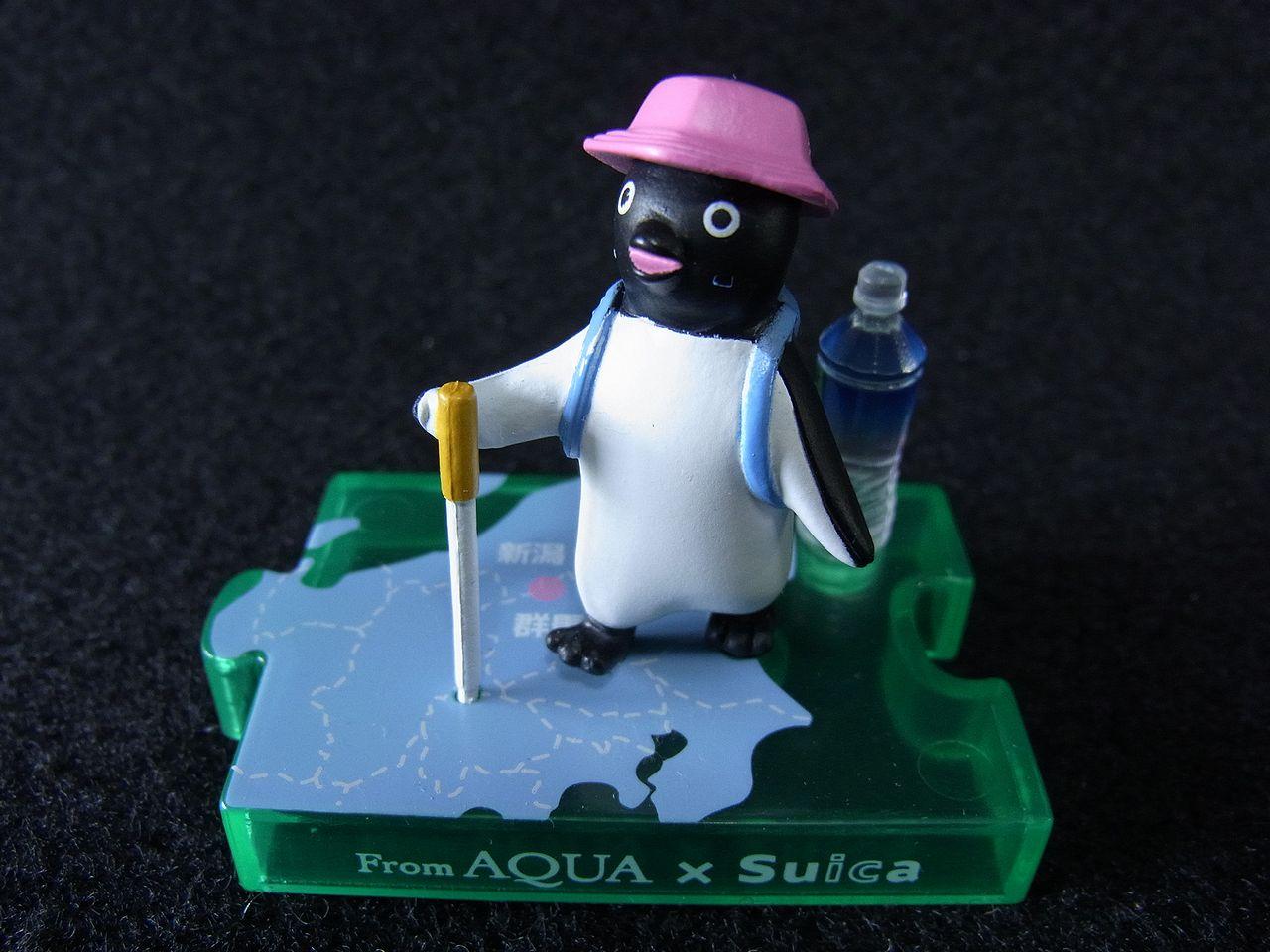 FromAQUA×Suica オリジナルペンギンフィギュア フロムアクアストーリー