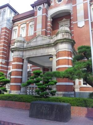 東京駅(レンガ)1