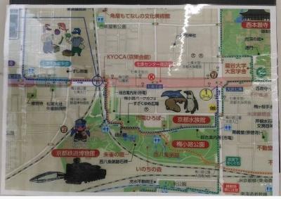 セブン-イレブン梅小路公園西店周辺地図