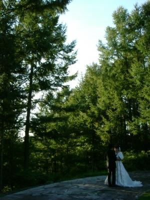結婚記念写真?