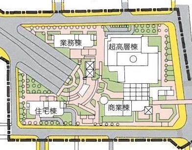 図4 �街区の配置NEW
