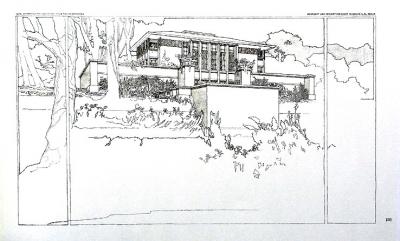 ハーディ邸透視図