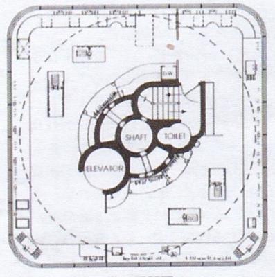 研究棟、正方形階の平面図.jpg