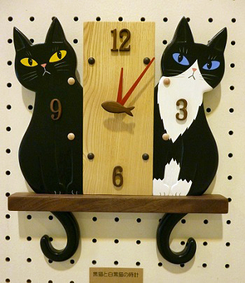 黒猫&白黒猫