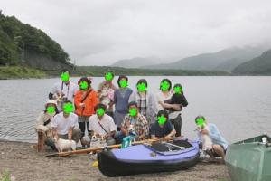 西湖でデイキャンプ
