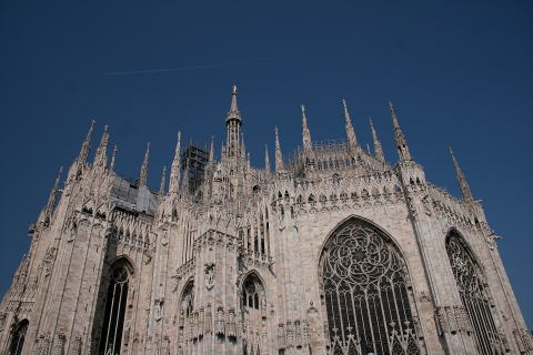 ミラノのシンボル。ドゥオーモ