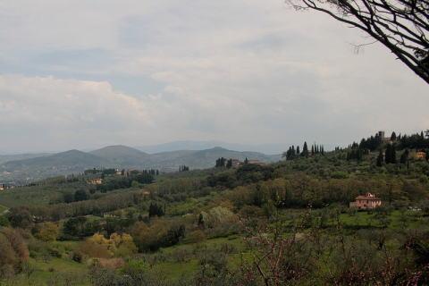トスカーナ地方の田園風景