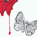 血滴椿、部分
