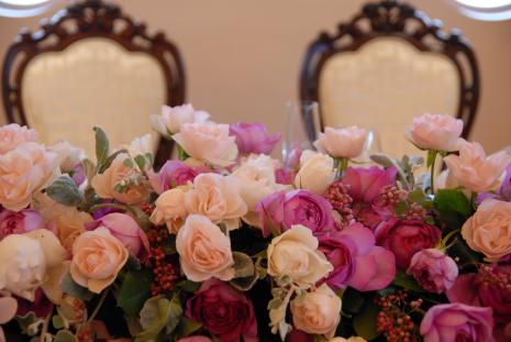 6月の結婚式☆装花編