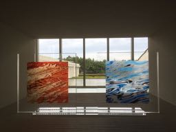nalblog.com なんとかなる。なんとかする。2017年9月1日(金)健康記録 この日は朝から高速バスで広島県三次市にある奥田元宗・小由女美術館を訪れました。図書館に置いてあったパンフレットに引き寄せられるようにやって来たわけですが、この日は写真家・遠藤湖舟(えんどう こしゅう)さんの写真展「天空の美、地上の美。」の初日。時間的に午前中は無理だったので、午後のギャラリートークに参加しました。  この奥田元宗・小由女美術館で写真展が開かれるのは、報道写真の土門拳さん、ポートレートの篠山紀信さんに次いで3人目だそうです。百聞は一見に如かずとはこのことかというほど、作品を全身で味わえるいい時間を過ごすことができました。ギャラリートークでは、孤舟さんと学芸員の方と一緒に作品を巡りながら作品に関する説明や展示方法について色々とお話を聞くことができました。離れて観た時の存在感、近づいて観た時の緻密さ。印刷のクオリティもライティングも素晴らしかったです。  湖舟さんのお話の中で印象に残ったのは、その人に見えていないものは、その人の世界には存在していないということに等しい。私はみんなが目を向けないものに目を向けて新しい世界を見せたい……という言葉でした。その人それぞれの世界があって、厳密にいうとそれぞれが違う世界に住んでいる。だから同じことを共有・共感できるというのは奇跡なんだと思います。そして、同じ世界を共有・共感できている空間の温かさがこのギャラリートークを通して感じられました。 自然風景から抽象写真、中には私と近いスタイルの作品もあり、それが成立している世界を見ることができたのはとても良かったです。久しぶりに本物を観ることができました。この出会いに感謝です。  11月初旬頃まであるそうなので、もう一度観に行きたいな、と思っています。  日本の作品展では珍しく写真撮影可だったので、いくつか載せておきますね。