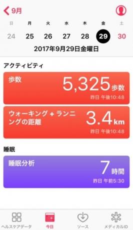 nalblog.com なんとかなる。なんとかする。2017年9月29日(金)健康記録 2017年9月29日(金)健康記録  歩数:5,325歩 歩いた距離:3.4km 睡眠時間:7時間00分 マインドフル時間:0分  この日は朝から撮影でした。ラジオ体操から始まって、いつもより丁寧に掃除をしてから朝食。天気もちょうどよく撮影日和でした。 午後編集作業をして無事寄稿。今週予定していた撮影は全て完了しました。来月は母多忙のため、フルで食事担当になりました。それに合わせて撮影していく予定なので、おもしろくなりそうです。料理のレパートリーも増やせたらいいなと思います。とりあえず週末は、スイッチを切り替えてゆっくりします。
