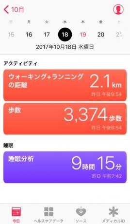 nalblog.com なんとかなる。なんとかする。2017年10月18日(水)健康記録 2017年10月18日(水)雨  歩数:3,374歩 歩いた距離:2.1km 睡眠時間:9時間15分 マインドフル時間:0分  この日は一応お休みでした。ブログのお題に「昔、どんなバイトしてた?」というお題があったので書いてみたのですが、振り返ってみるとまぁなんとも悠長に生きてきたなと思います。私は一体どこへ向かっているのか、それも謎です。どこへ行ってもあなたは他の人と違うとか変とか言われてきたので、自分の居場所は自分で作るしかないとわかってはいるのですが、まだヘタレで甘ちゃんな部分が残ったままなような気がします。淡々と幸せに生きていけるよう日々精進します。とりあえず、去年の始めに切り損なった髪の毛を切ろうと美容室に予約を入れました。スッキリしようと思います。