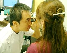 増岡先生の診察