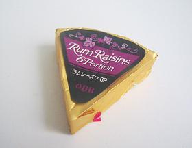 ラムレーズンチーズ