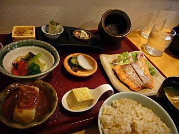 そうさく料理・こっく♪ お魚のランチです〜♪