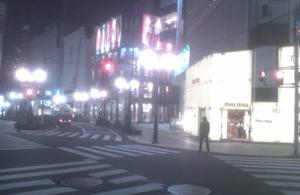 真夜中の渋谷
