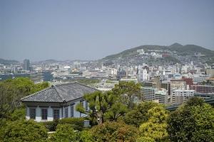 長崎港からの眺望