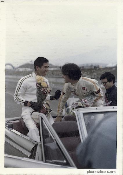 解良喜久雄 風戸裕 1970 JAF GP