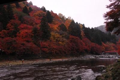 雨の香嵐渓