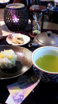 新緑茶房のお茶セット