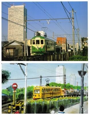 小幡勇彦「一球さん」池波正太郎「東京の情景」比較