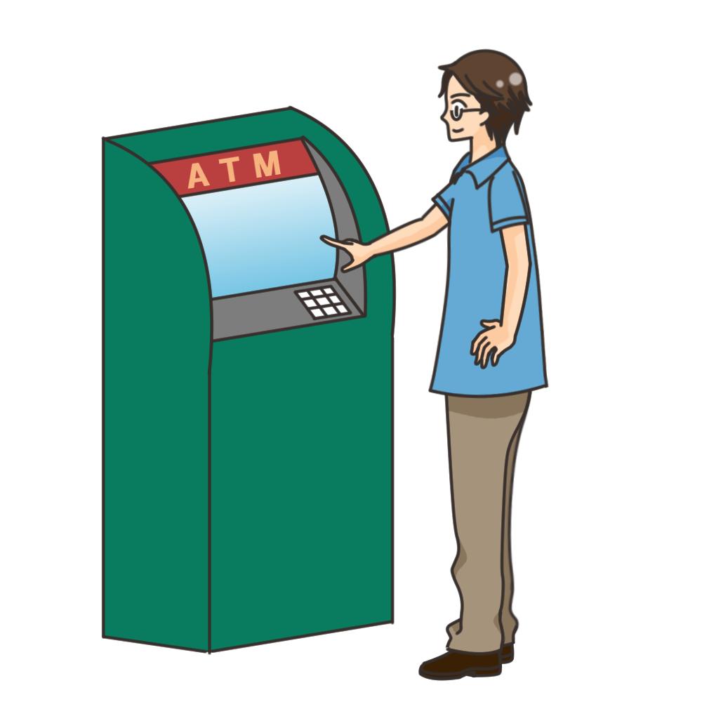 キャッシュカード、ATM