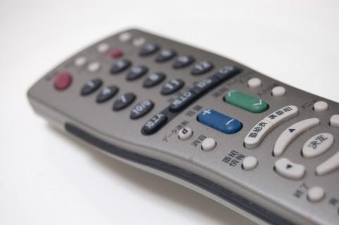 TVのリモコン-債務整理日記