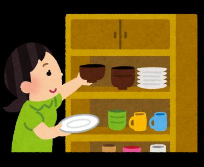 食器棚-債務整理体験談