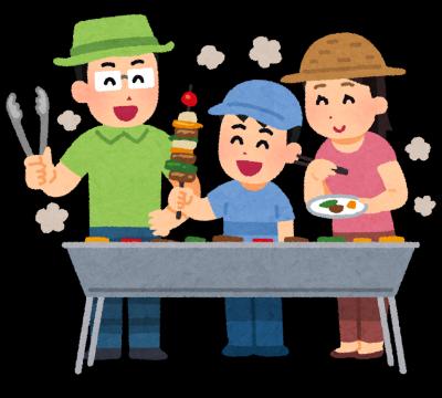 家族でバーベキュー-債務整理体験談