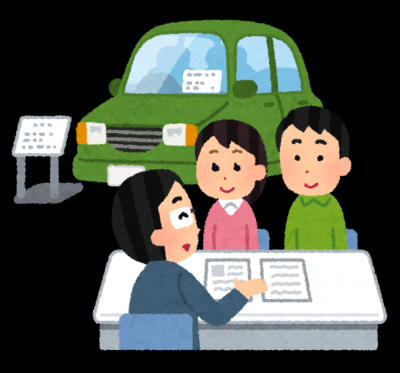 ディーラーで車を買う-債務整理体験談