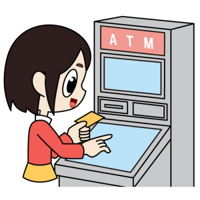 ATMでキャッシングの返済をする-債務整理体験談