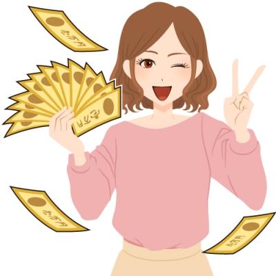 宝くじで2億円の高額当選した女性