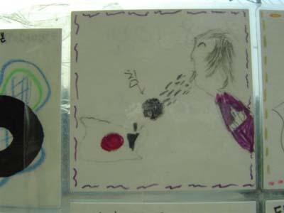 チョ・インソンは子供の頃、どんな絵を描いたのかな?