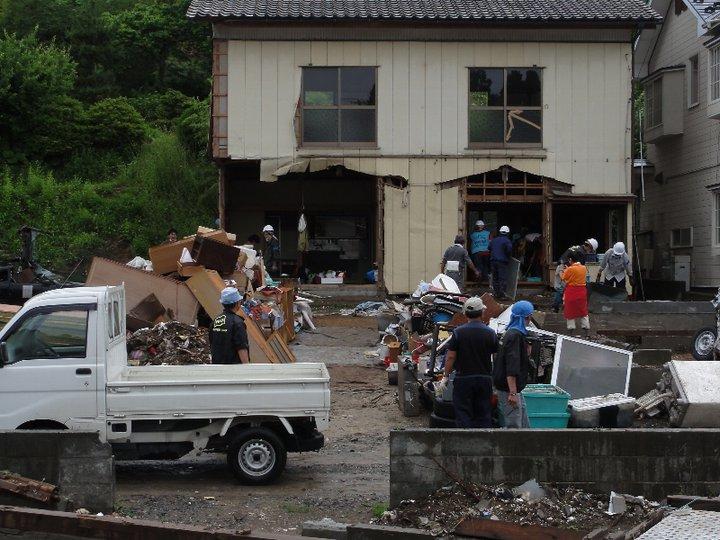 希望のつばさプロジェクト東日本大震災ボランティア