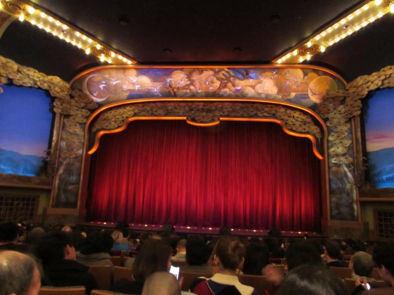 ビックバンドビートの劇場内、上映中は撮影禁止