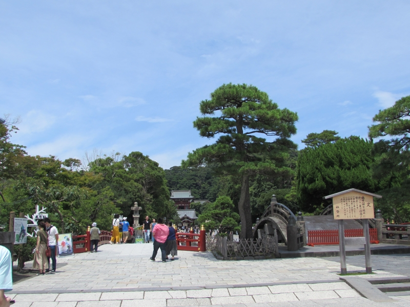 鎌倉駅の鶴岡八幡宮(TURUOKAHATIMANGU)