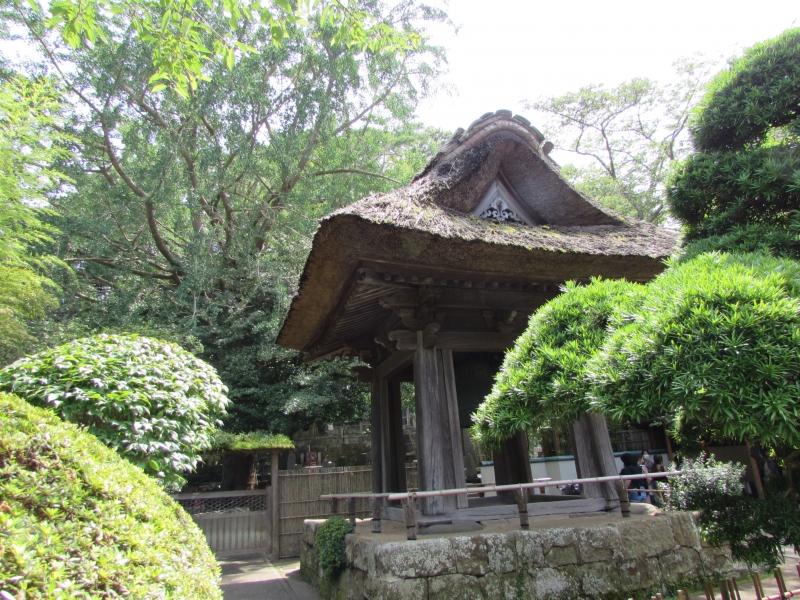 お寺の鐘(HOUKOKUJI)