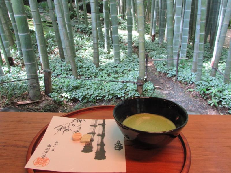 竹寺とも呼ばれる竹林が美しい報国寺の竹の庭(HOUKOKUJI TEMPLE TAKENONIWA