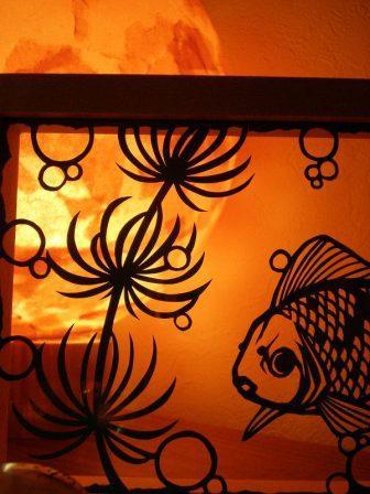 鎌田沙織  金魚