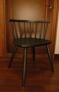 曲木の椅子